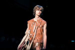 Craig Green enamoró con su visión fragmentada de la moda.