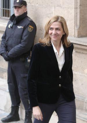 La infanta Cristina, ante los juzgados de Palma de Mallorca en 2014.