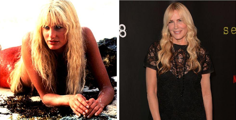 Daryl Hannah, antes y ahora.