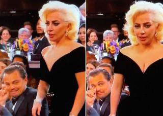 El susto de Lady Gaga a DiCaprio y el aburrimiento general: Así fue la gala de los Globos de Oro