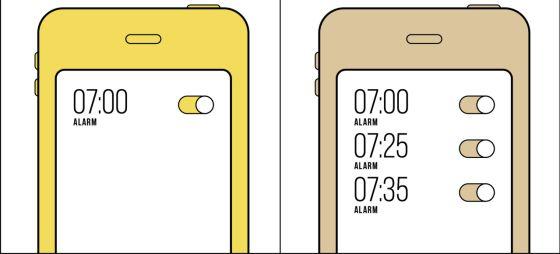 Hay dos formas de poner el despertador y solo una es correcta