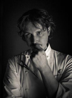 El chef del restaurante Aliena, Grant Achatz.