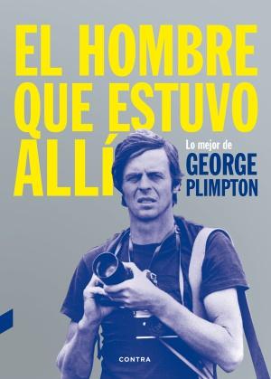 George Plimpton, dispuesto a disparar con su cámara en la portada del libro.