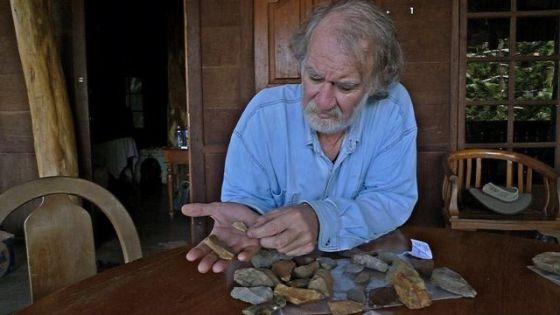 Algunas de las herramientas halladas en Sulawesi