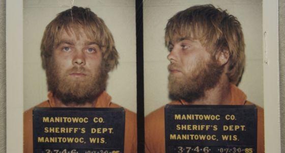Fotografías del protagonista de la serie, Steve Avery, cuando ingresó en prisión.