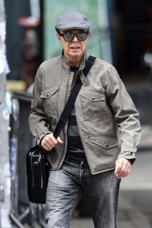 David Bowie fue visto en Nueva York en octubre de 2013.