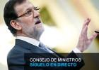 Directo | Rueda de prensa del Consejo de Ministros