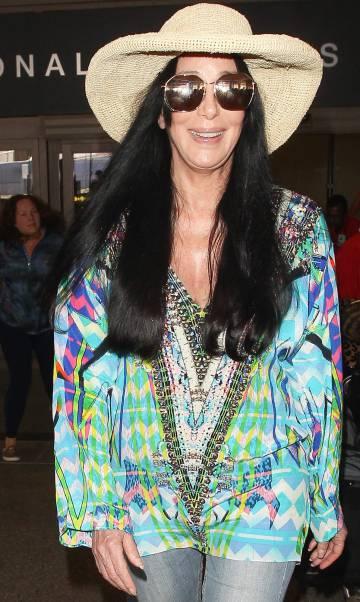 Cher, el pasado mes de julio en el aeropuerto de Los Ángeles.