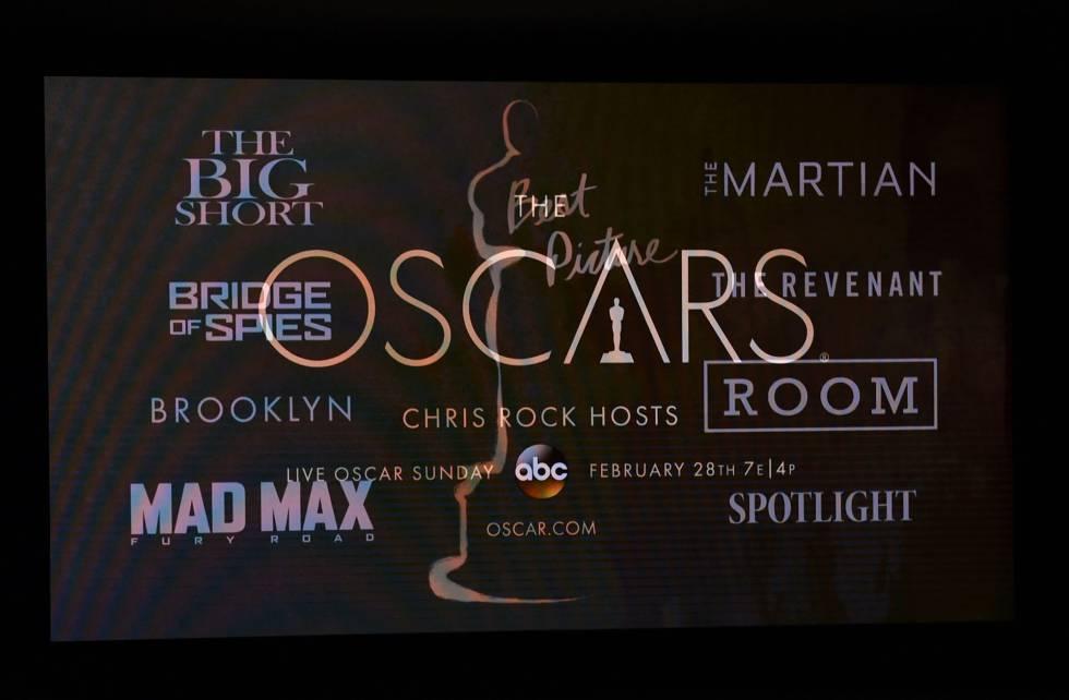 Uno de los anuncios de los Oscar.