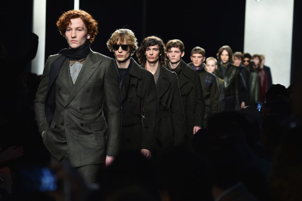 Desfile de la colección de Bottega Veneta en la Semana de la Moda de MIlán.