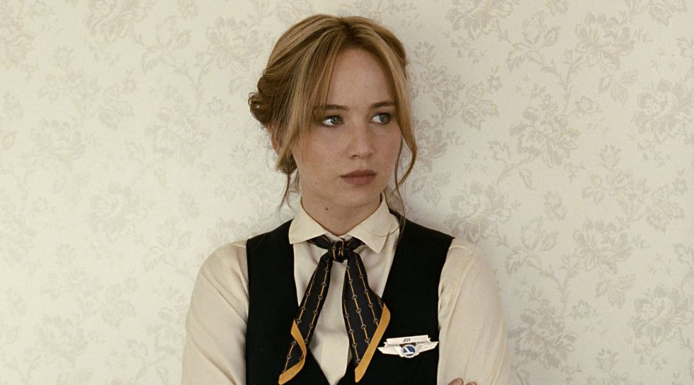 Jennifer Lawrence, en un fotograma de la película 'Joy'.
