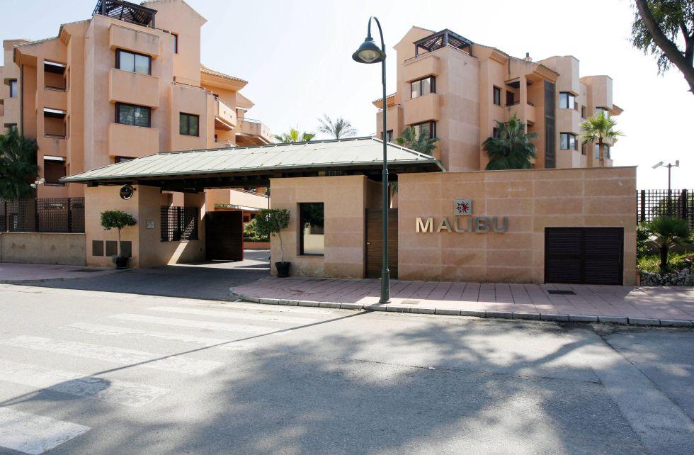 Apartamentos de lujo construidos donde se encontraba la antigua residencia del actor escocés en Marbella.