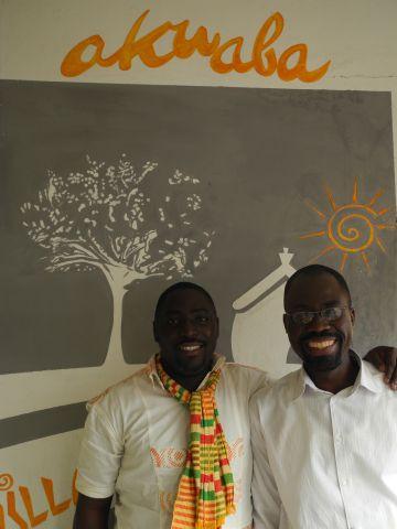 Cyriac Gbogou y Florent Youzan.