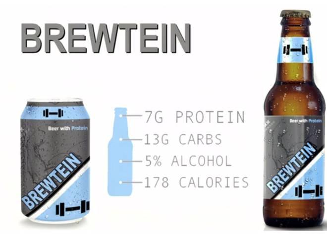 Cerveza con proteínas. Sí, hay quien la toma