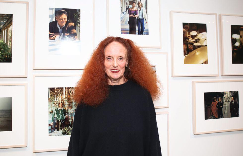Grace Coddington, el pasado octubre en una exposición en Nueva York.