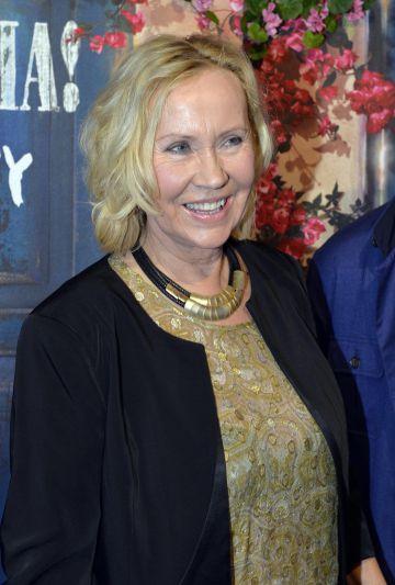 La miembro de Abba Agnetha Faltskog.