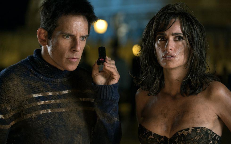 Ben Stiller y Penélope Cruz, en la cinta 'Zoolander 2'.
