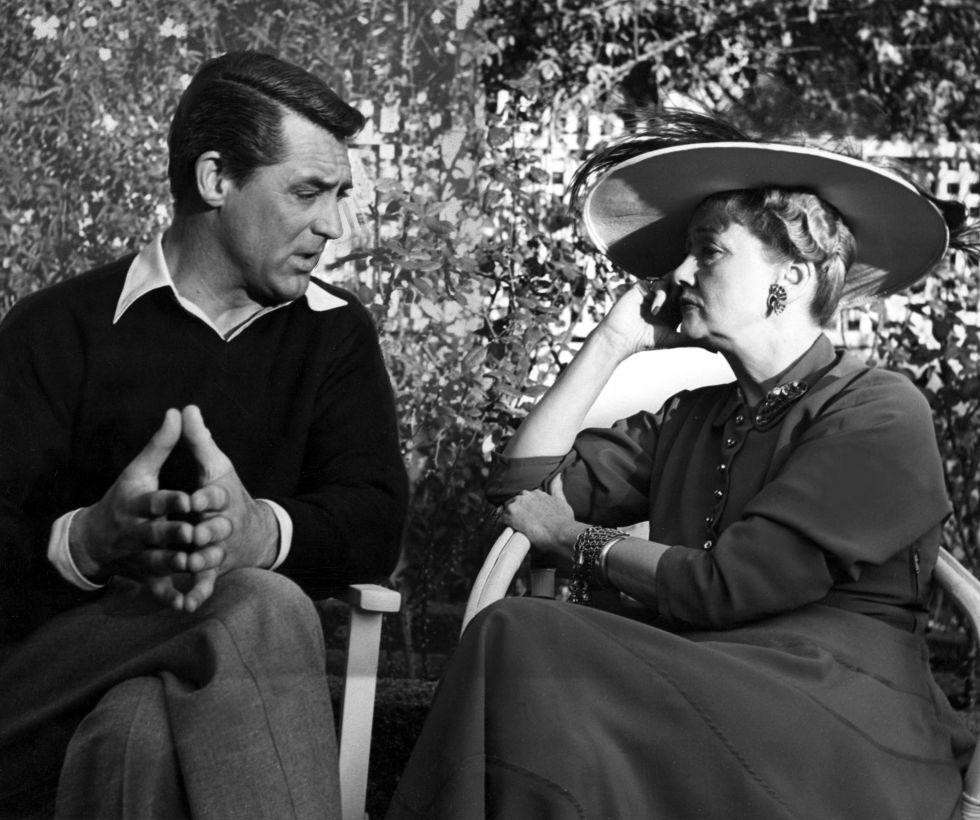 Cary Grant entrevistado por Hedda Hopper en 1948.