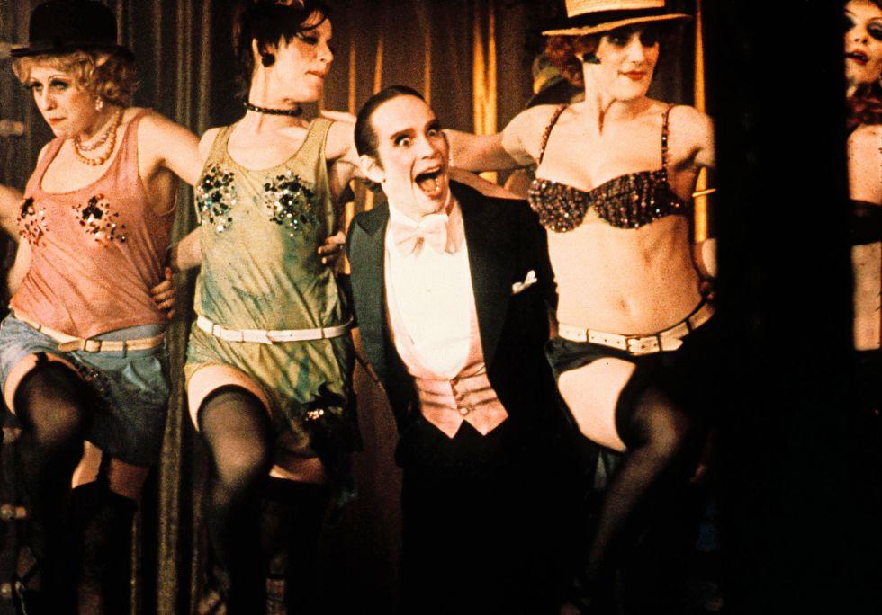 El filme musical 'Cabaret' se estrenó en 1972.