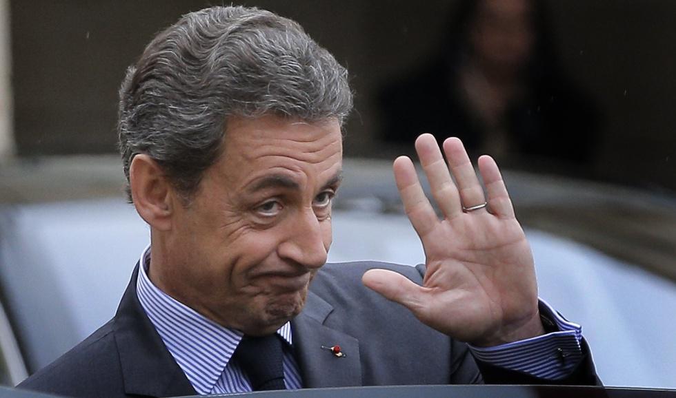 El expresidente francés, Nicolas Sarkozy.