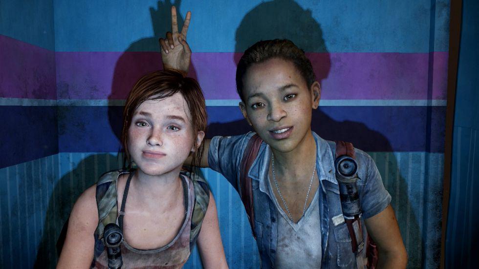 Captura de 'Left behind', expansión del videojuego 'The last of us'
