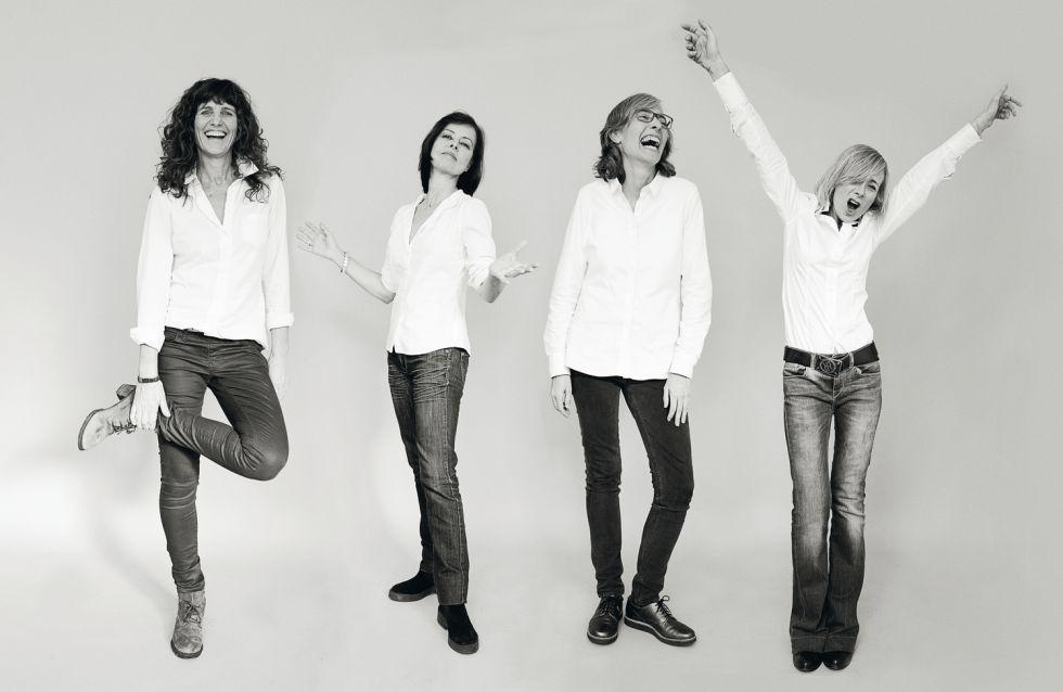 De izquierda a derecha: Katy McConkey, Blanca Losada, Martina Noora Millà y Mariona Iglesias.