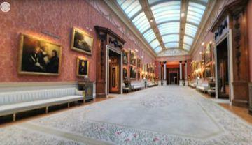 Puedes visitar el palacio de Buckingham en 3D