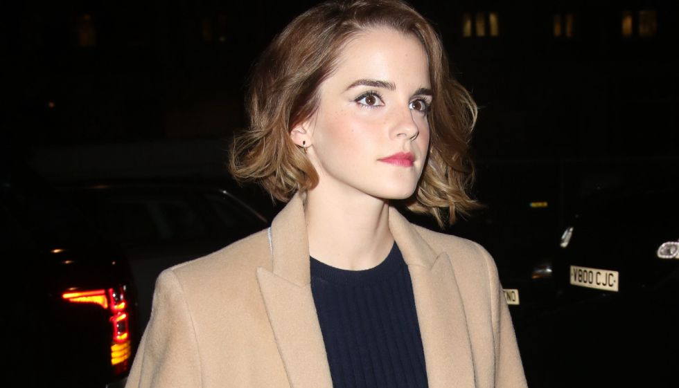 La actriz Emma Watson.
