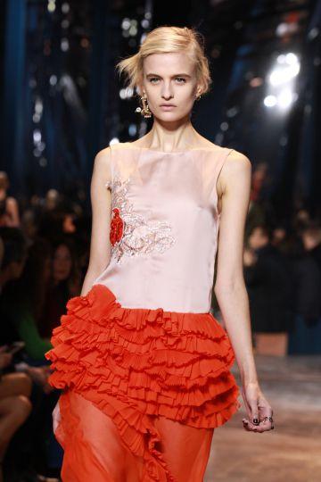 Desfile de Christian Dior en la Semana de la Moda de París.