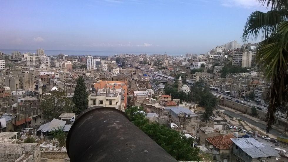 Centro de Trípoli, desde el castillo.rn