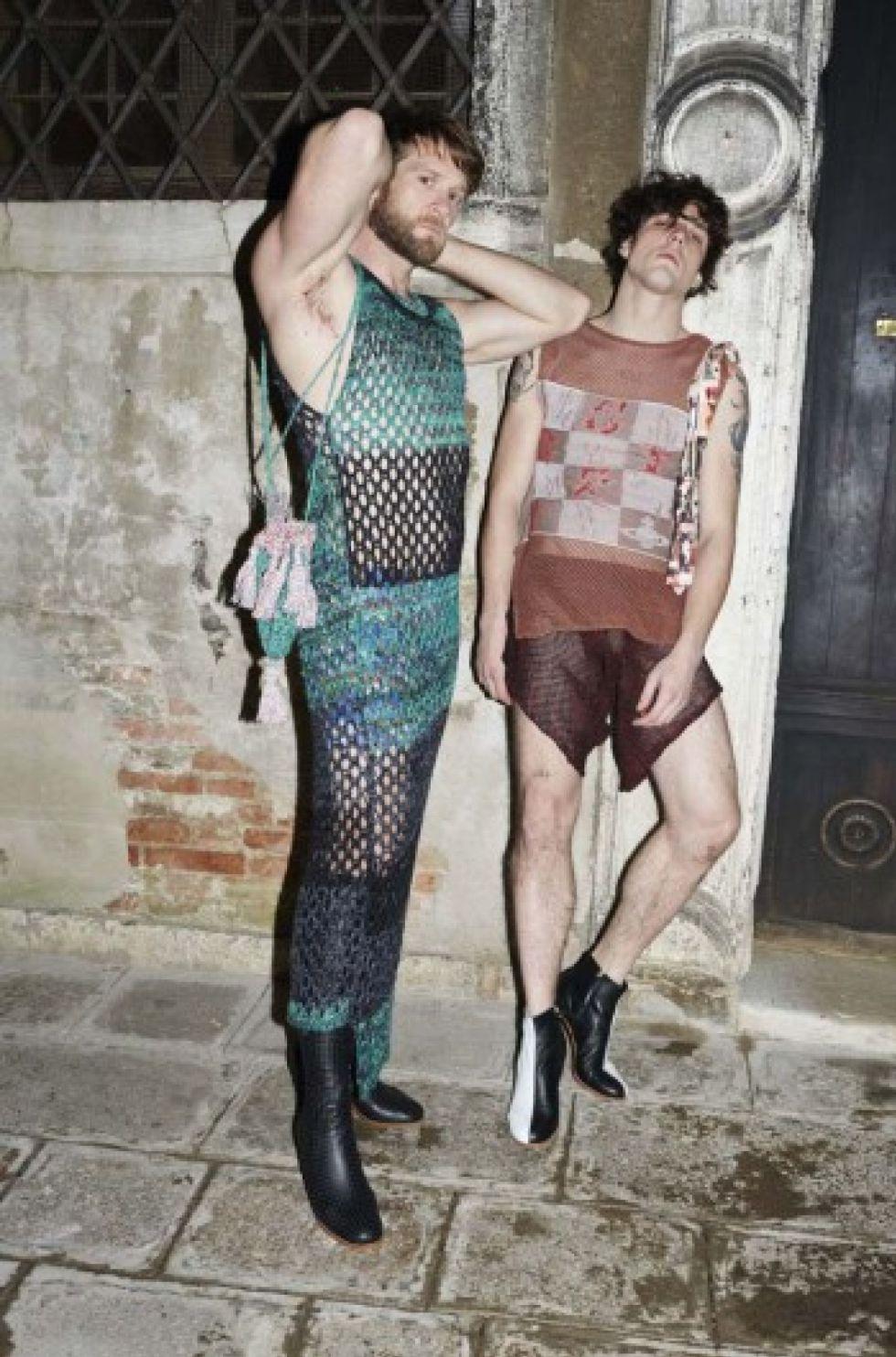 La inspiración yonqui de Gucci y el olimpo porno de Vivienne Westwood