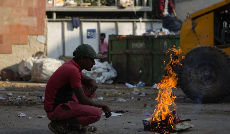 Nueva Delhi, capital mundial de la contaminación
