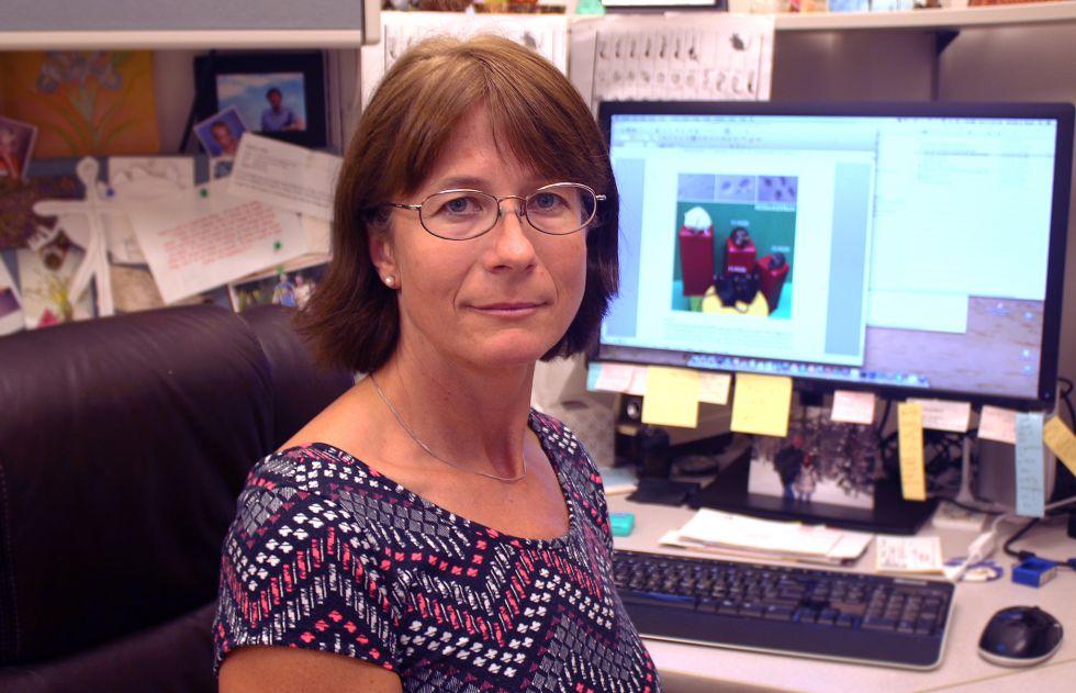 Monika Ward, del Instituto de Investigación en Biogénesis de la Universidad de Hawai