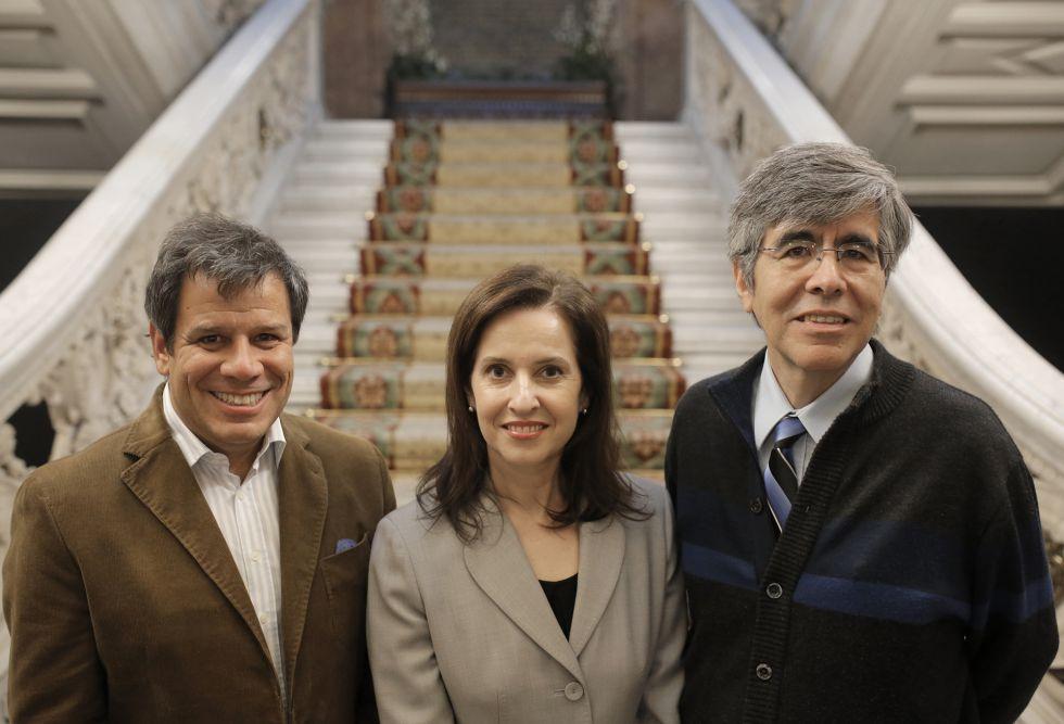 Facundo Manes, Susana Martínez-Conde y Raúl Rojas
