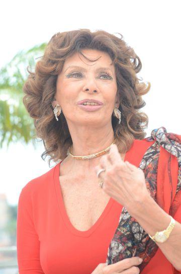 Sofía Loren, de 81 años.