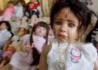 Las muñecas sobrenaturales causan furor en Tailandia