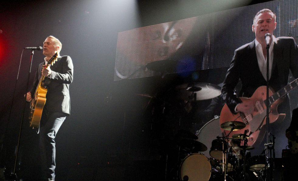 Bryan Adams, actuando en Portugal el pasado 26 de enero.