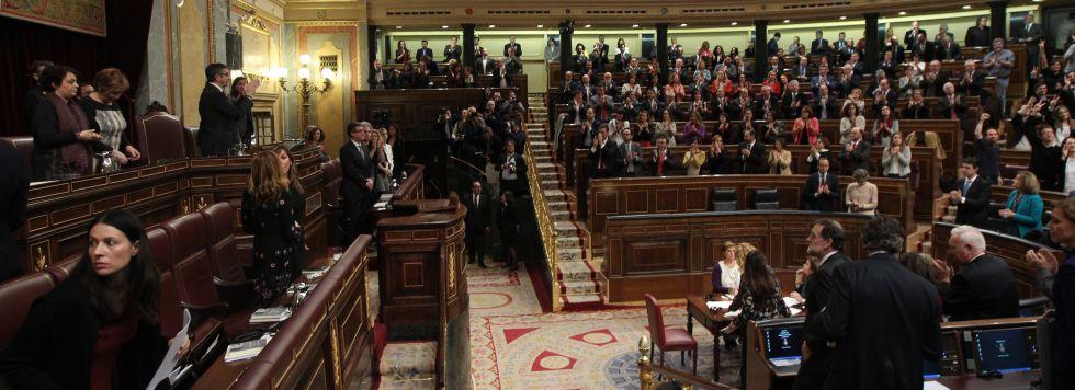 Sesión constitutiva de las Cortes, el pasado 13 de enero.