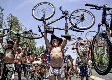 Tribulaciones de un ciclista (y de su tribu en la región)