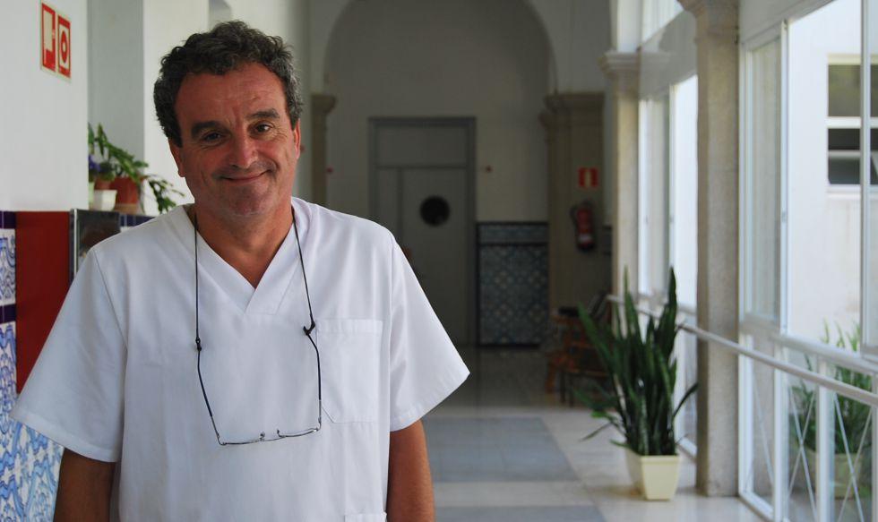 José Ramón Gómez, en la Fundación Fontilles.