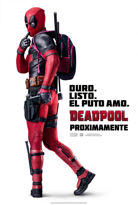 Cartel promocional de 'Deadpool'