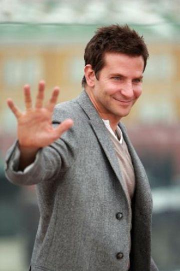 Bradley Cooper, en la presentación de 'La gran estafa americana' en Rusia.