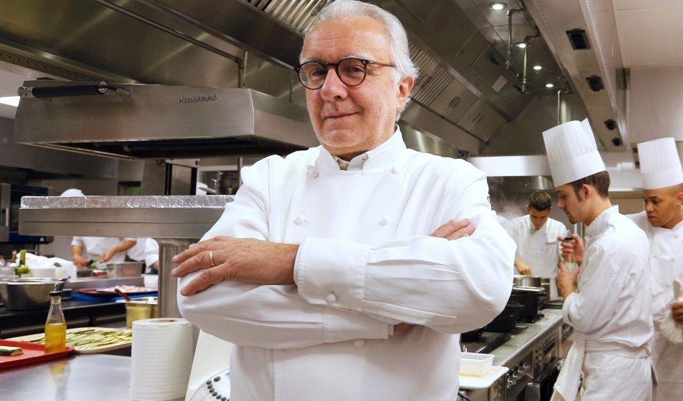 El chef francés Alain Ducasse.