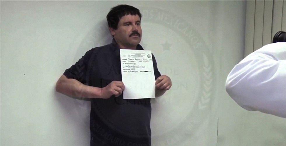 El Chapo Guzmán, tras su última captura.