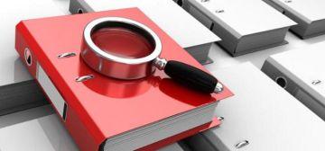 La lupa y el archivador simbolizan la investigación para Fipse.