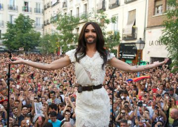 Eurovision queen Conchita Wurst kicks off Madrid Pride