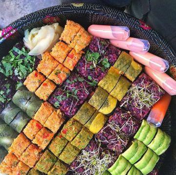 'Veggie sushi made in NY': a Carrie Bradshaw le hubiera gustado probarlos.