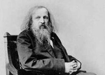 Dmitri Mendeléyev y la tabla periódica