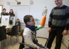 Unai ya puede jugar con su mano 3D