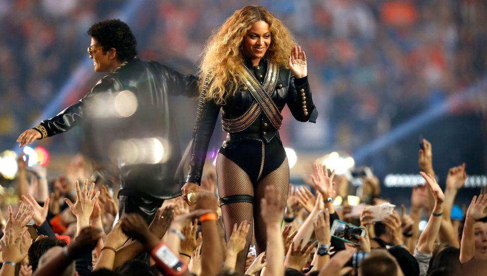 Beyonce en la Super Bowl 2016